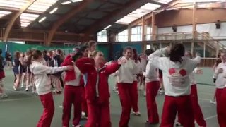 U14/U16 show off their moves at Disneyland Paris