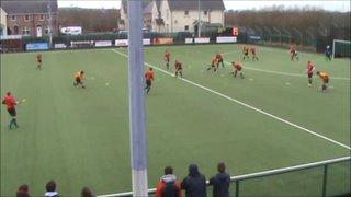 Mossley vs NICS N.Glassey Goal 1