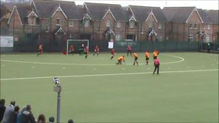 Mossley vs NICS N.Glassey Goal 2