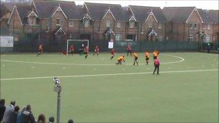 Mossley vs NICS N.Glassey Goal 2