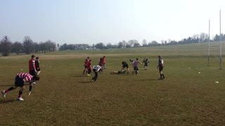 Saracens Rugby Camp April 2013