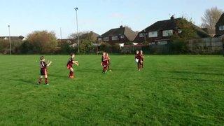 Under 8 V West Park - Edward Price try