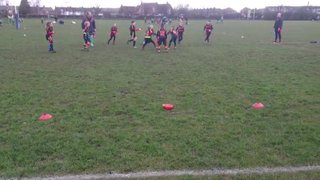 Edward Price Try V Southport, brilliant link up play!