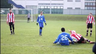 away v afc dunstable sunday 18th january 2015 film clip