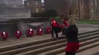 Remembrance Sunday Wreath Laying