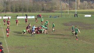 Liam Poole try Vs Drybrook RFC