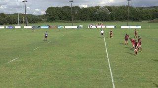 Billy Reynolds try Vs Rumney RFC