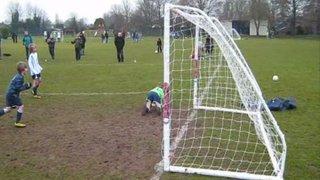 21 Jan 2011: SASS U8-A vs. Teversham Colts U8