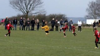 Joe Burnley Scores to give Under 10's an early lead