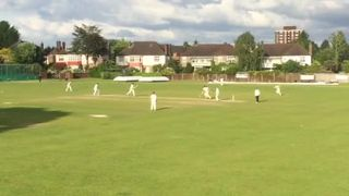 Oliver Wilkin Tons Up: National 3rd Round Vs Harpenden 31/5/2015
