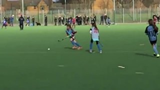 U10 Girls Short corner slo-mo!