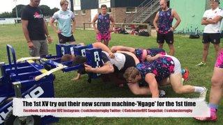 Colchester RFC's New Scrum Machine