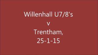 Willenhall U7/8's v Trentham, 25-1-15