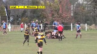 Leigh 17 Wilmslow 0 - Highlights