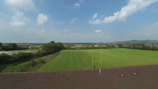 Warminster RFC from above
