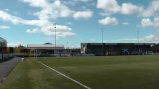 Jeanfield Ladies FC 1-0 Hibernian Development LFC. Danni McGinley. SWFL 1st Division Cup Final