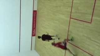 Julian Tomlinson v Connor Sheen (Hyde 1 v Heswall 1 8/12/15)