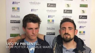 UCC TV Player interview - Dom Potter & Charlie Ward