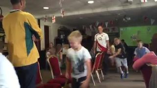 Children's Rugby World Cup party 13.09.15
