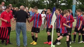 U14 Holland FC Blues League cup presentation