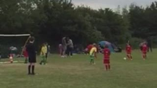 Rabona Goal - Noah Hoffman (Watch Refs reaction)