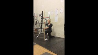 Mobility Monday:  Pole Lunges
