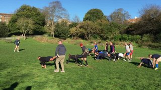 Training @ Queen's Park - 22nd November 2015
