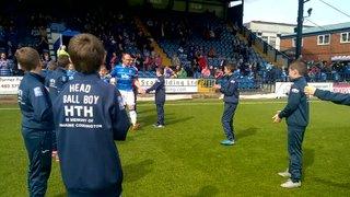 Stockport County U11s Ball Boy Guard of Honour