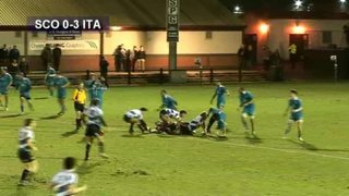 SCOTLAND U20 v ITALY U20 - 8.2.13 - RUGBY HIGHLIGHTS