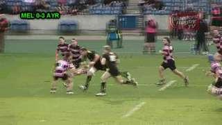 SCOTTISH CUP FINAL 2013 - AYR v MELROSE - BORDERS RUGBY TV