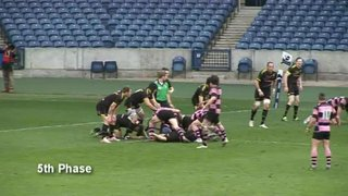 SCOTTISH CUP FINAL 2013 - DRAMATIC ENDING - AYR v MELROSE
