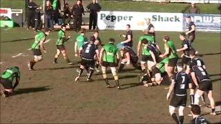 Ian Birch try vs Brixham (15 Feb 2014)