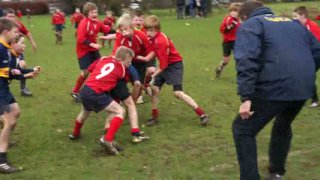 Bourne U11 v Wibech - Try on the Line! Thank you Sir