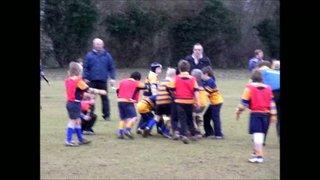 U10s at Basingstoke  16 Jan 2011