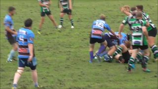 Paul Allen's 1st Try Vs Minchinhampton