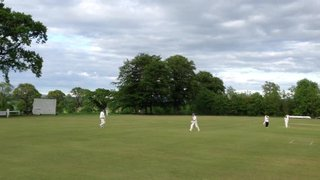 Chris Greaves takes applause after 101 run in T20 at Falkland