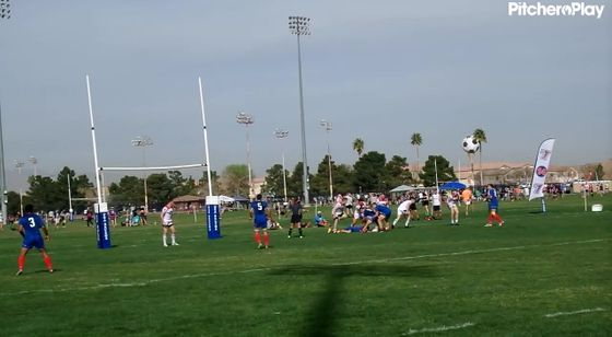 12:38 - Chile Player 3 Try