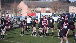 Charlie Rowberry try v Wimborne - 21/03/2015