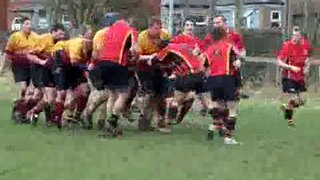 Ginger Rick 'powers over' for a try!!