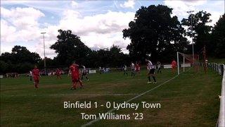 Binfield vs Lydney Town 13/08/2016