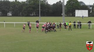 Wadling try against Dorking RFC