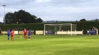Penalty save V's Ruthin