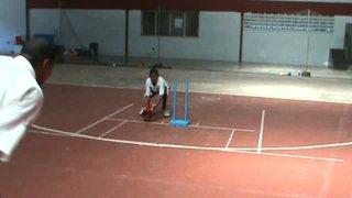 GCA Wicket Keeping - Footwork Drill