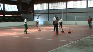 GCA Pace Bowling Clinic - Moving towards the target