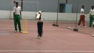 GCA Batting Clinic - Moving out to drive drill