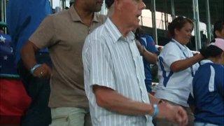 Pat  Evans boogie - Dubai 7s 2009