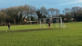 Womens County Cup QF (pens) - Dronfield Town