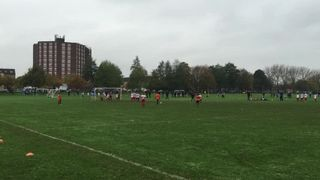 Free kick v London Eagles