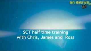 SCT Half Time Training - 11/10/11