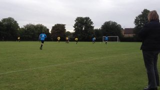 U14 vs Haslingfield - Defence at work